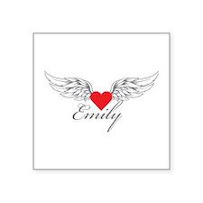 Angel Wings Emily Sticker