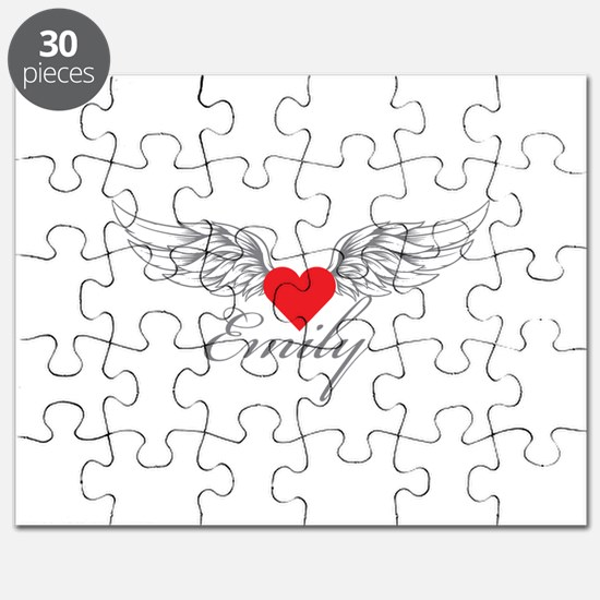 Angel Wings Emily Puzzle