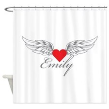 Angel Wings Emily Shower Curtain