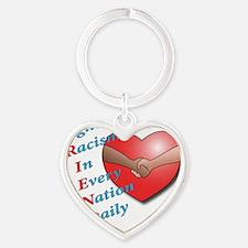 FRIEND-2 Heart Keychain