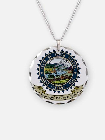 South Dakota Seal Necklace
