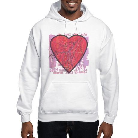 dance illusive violet copy Hooded Sweatshirt