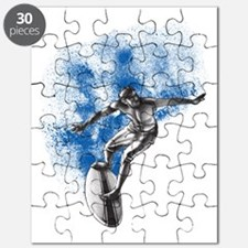 B-W Surfer Puzzle