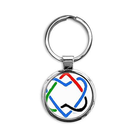 4440276174_bfd8f97e41_o Round Keychain