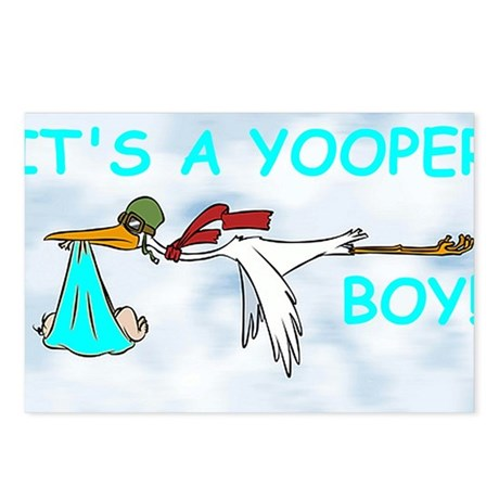 Its_A_Yooper_Boy.gif Postcards (Package of 8)