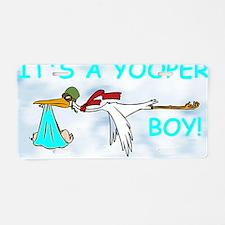 Its_A_Yooper_Boy.gif Aluminum License Plate