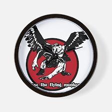Release The Flying Monkeys Wall Clock