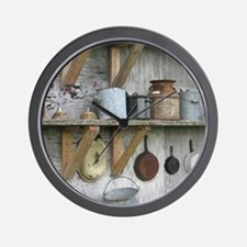 VintageRustyHousewaresToteBag Wall Clock