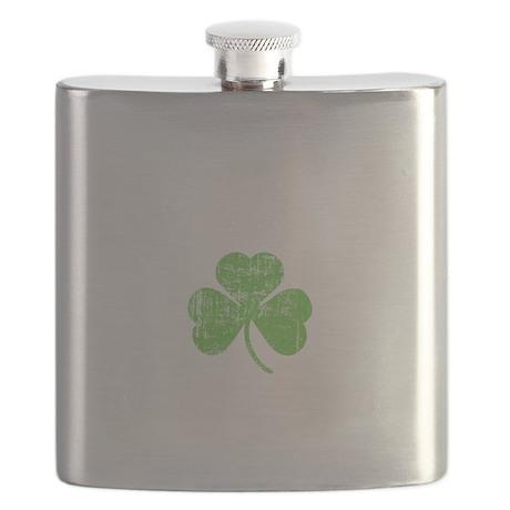 Drunky -blk Flask