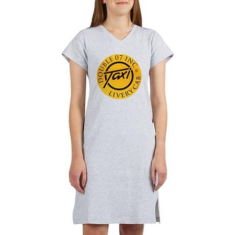 double07inc button Women's Nightshirt