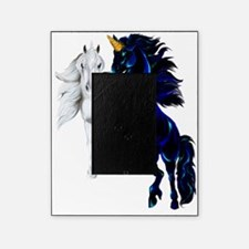 Black and Silver Unicorns Trans Picture Frame
