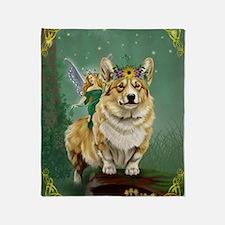 fairy steed Throw Blanket