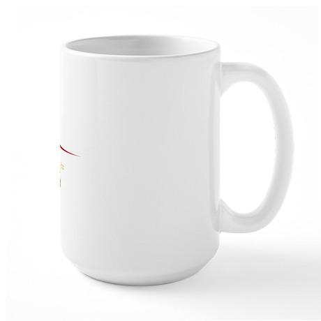 Atlanta Script B Large Mug