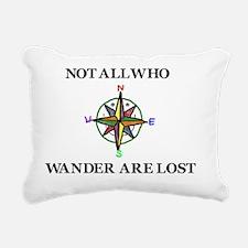 Wander Rectangular Canvas Pillow