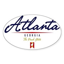 Atlanta Script W Decal