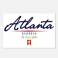 Atlanta Script W Postcards (Package of 8)