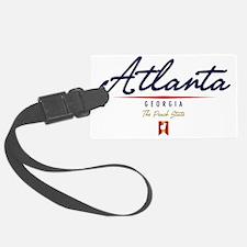 Atlanta Script W Luggage Tag