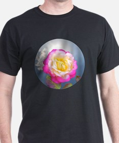 French Perfume Rose Buttons, Magnets  T-Shirt