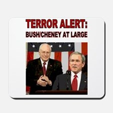 Mousepad- Terror Alert - Bush Still at Large