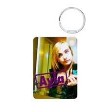 Ayla 12-2010 Aluminum Photo Keychain
