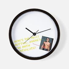 OPIO-CP-10x10-Belly-v02-Black Wall Clock