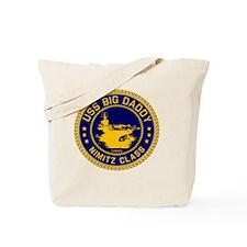 USS BIG DADDY NIMITZp Tote Bag