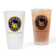 USS BIG DADDY NIMITZ Drinking Glass