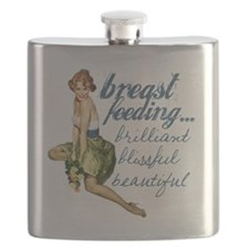 Breastfeeding Beautiful Flask