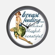 Breastfeeding Beautiful Wall Clock