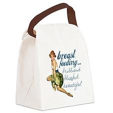 Breastfeeding Beautiful Canvas Lunch Bag
