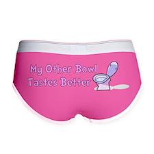 My Other Bowl pink Women's Boy Brief
