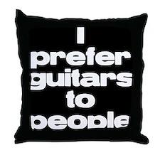 bwi prefer guitars Throw Pillow