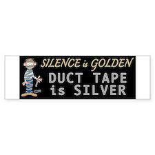 Duct Tape Humor Bumper Bumper Bumper Sticker