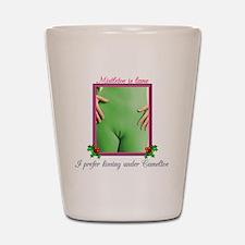 mistletoe Shot Glass