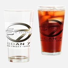 logo-scan-10-2010-white Drinking Glass