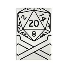 20sides Rectangle Magnet