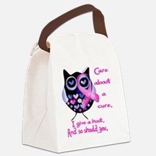 owl_give_a_hoot Canvas Lunch Bag