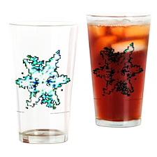 Schneeflocke_11_1 Drinking Glass