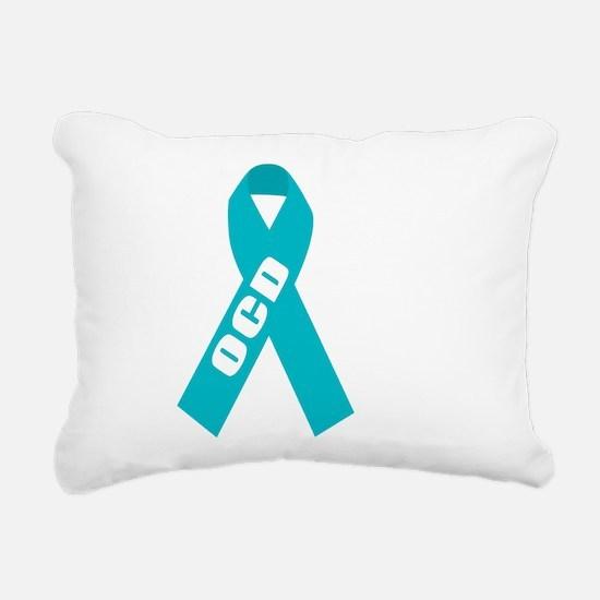 OCD-Hope-blk Rectangular Canvas Pillow