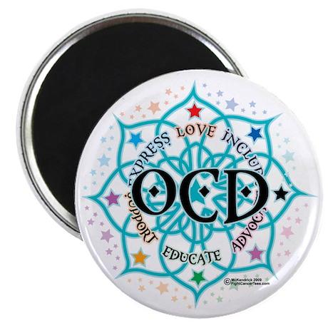 OCD-Lotus Magnet