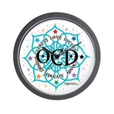 OCD-Lotus Wall Clock