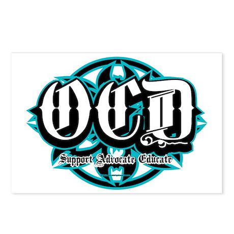 OCD-Tribal Postcards (Package of 8)