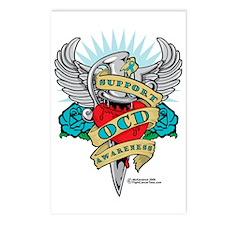 OCD-Dagger Postcards (Package of 8)