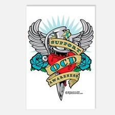 OCD-Dagger Postcards (Package of 8)