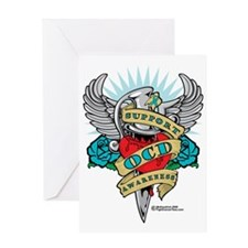 OCD-Dagger Greeting Card