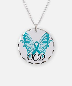 OCD-Butterfly-Ribbon Necklace