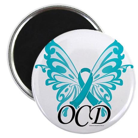 OCD-Butterfly-Ribbon Magnet