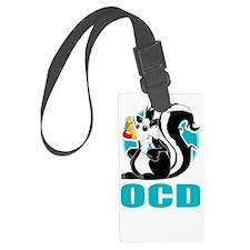 OCD-Stinks-blk Luggage Tag