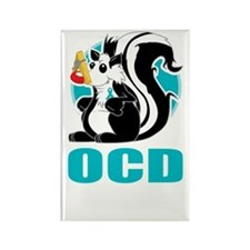 OCD-Stinks-blk Rectangle Magnet