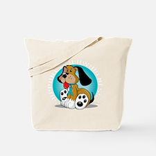 OCD-Dog-blk Tote Bag
